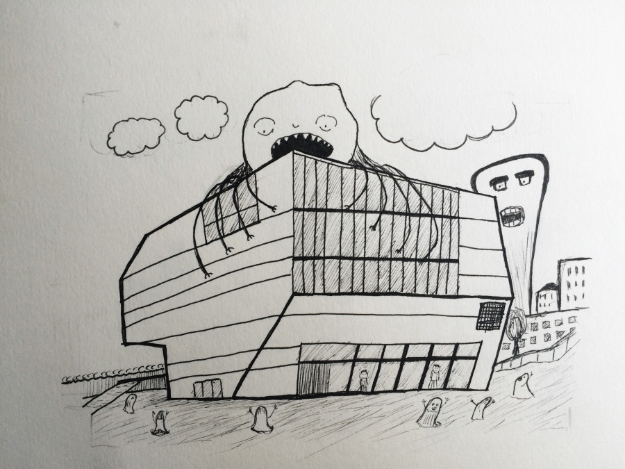 Alek GK drawning